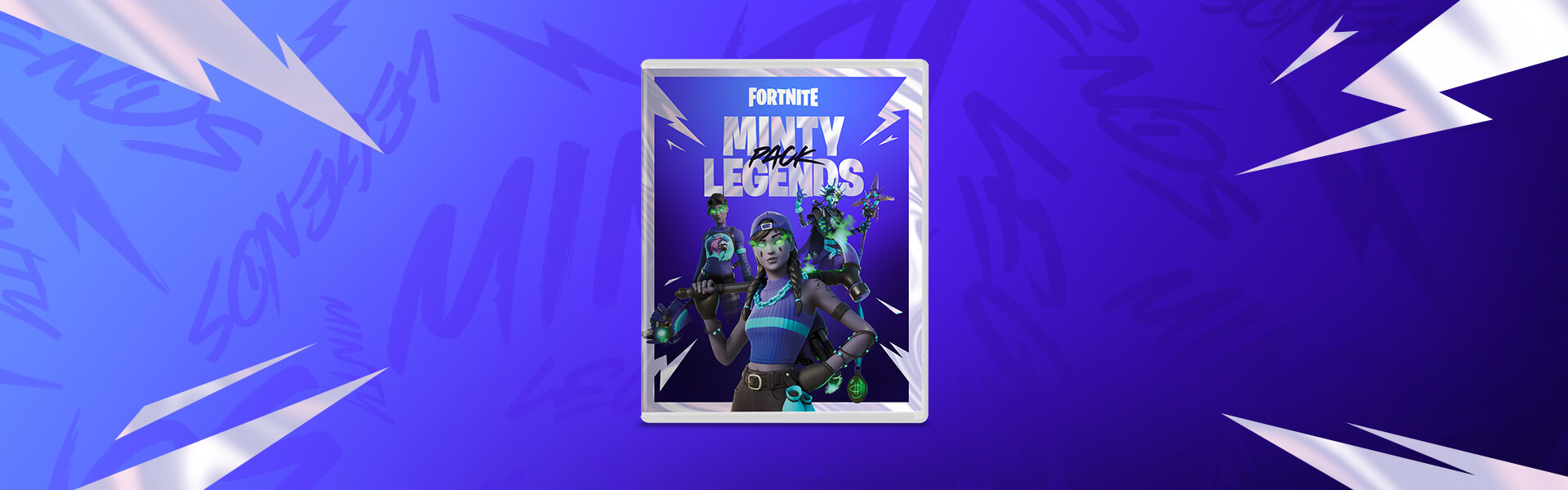 The Fortnite Minty Legends Pack
