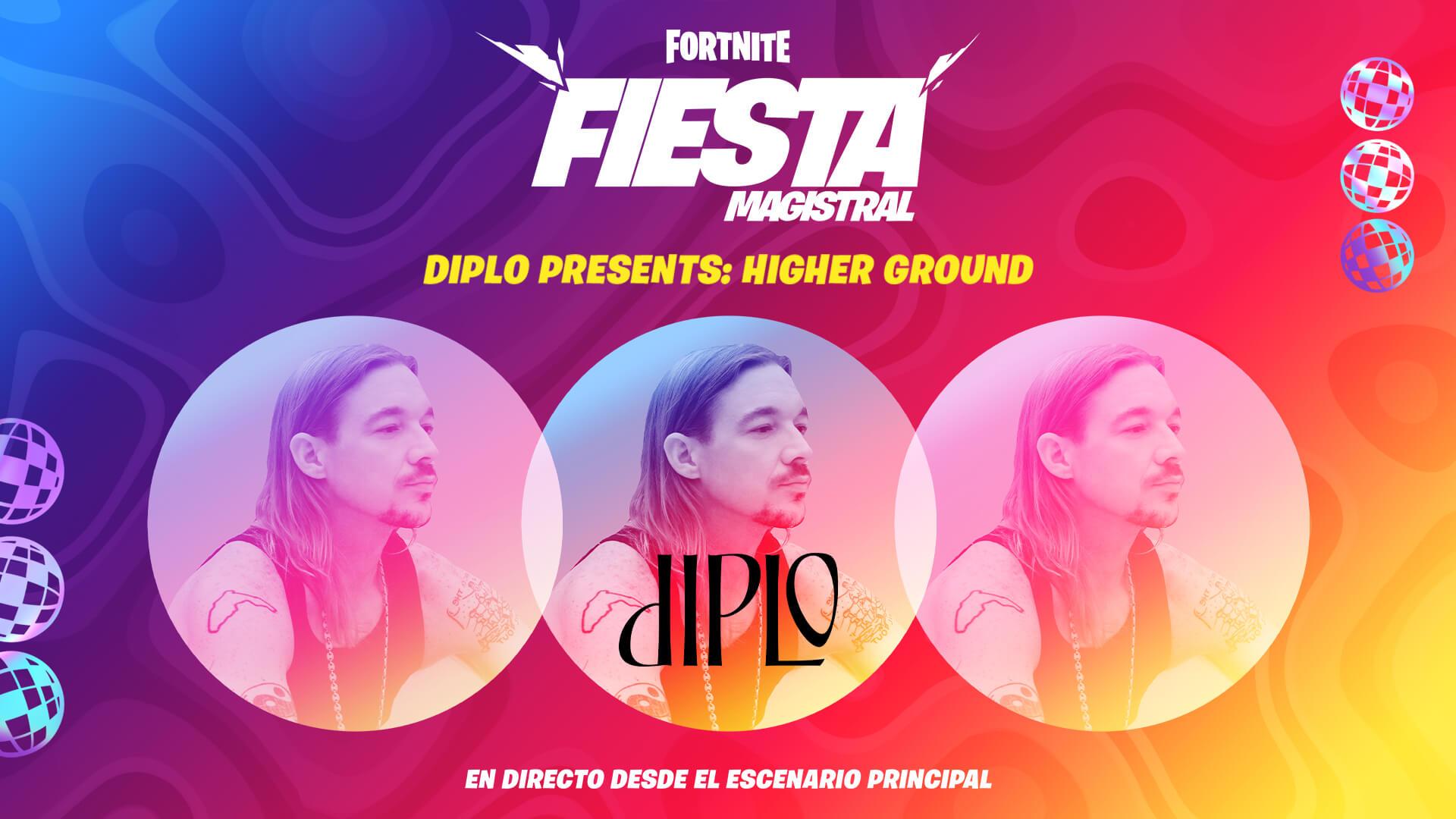 ES ES 13PR Diplo HigherGround Announce Social