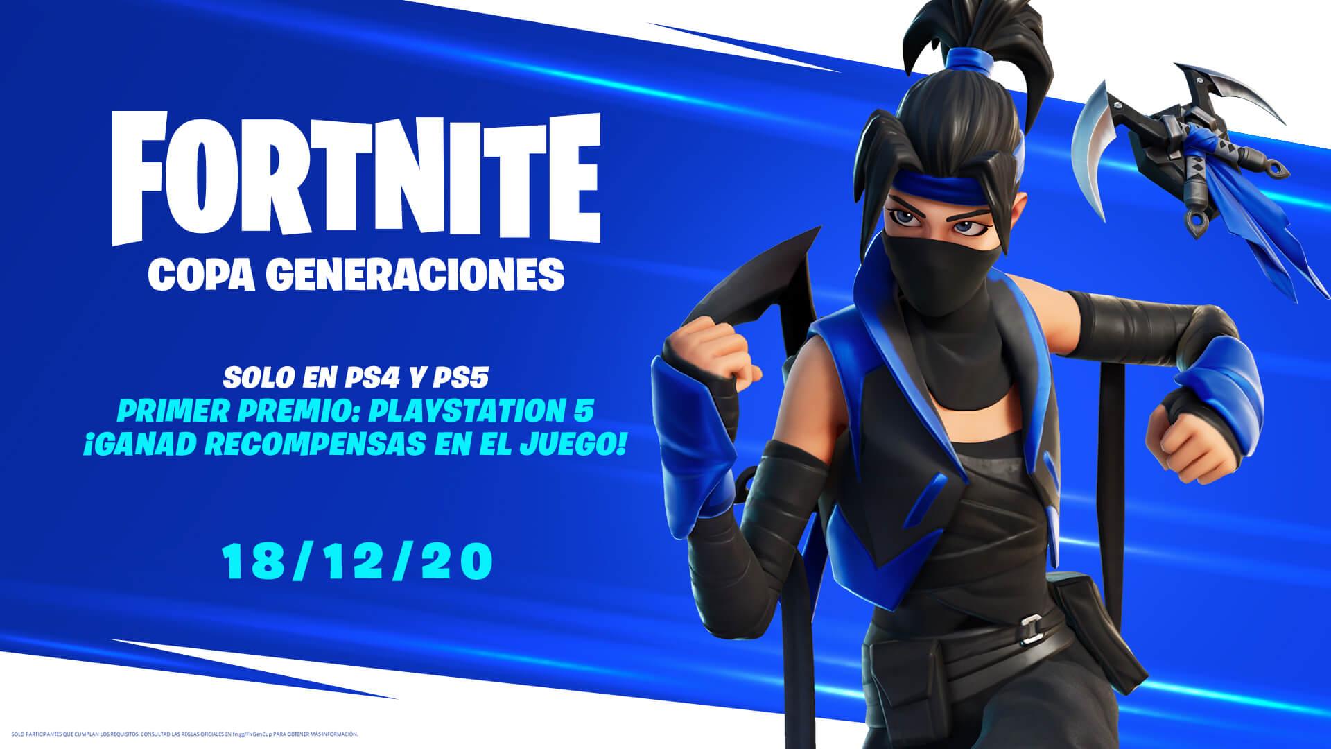 Playstation Servers Fortnite Copa Generaciones De Fortnite Solo En Ps4 Ps5