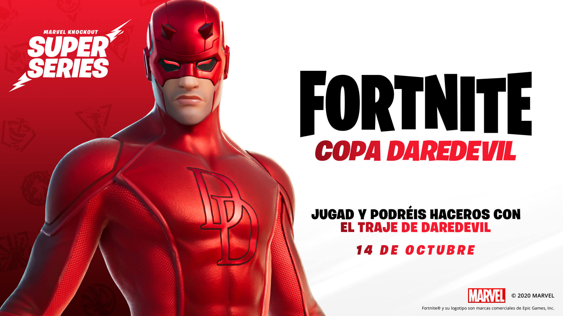 ES ES 14BR Competitive MarvelSuperSeries DaredevilCup Social