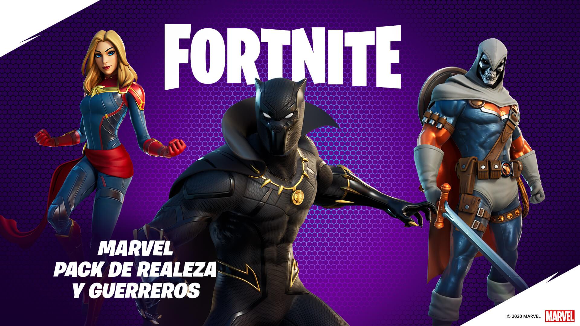 Nuevos superhéroes llegan a Fortnite en un nuevo pack de contenidos