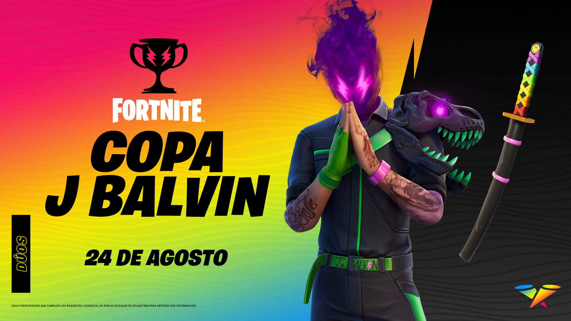 Copa JBalvin Fortnite
