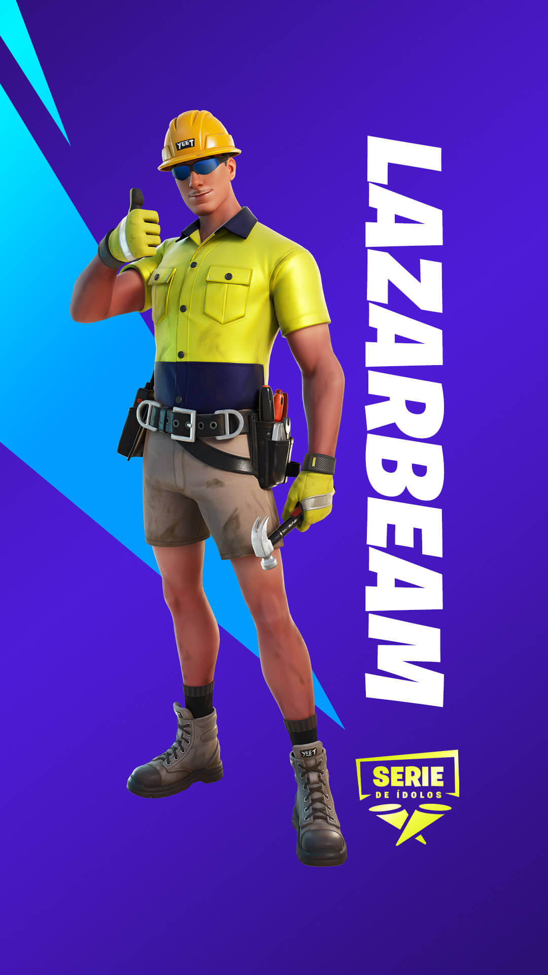 ES MX 15BR IconSeries Lazarbeam Cosmetics IGS Skin Helmet
