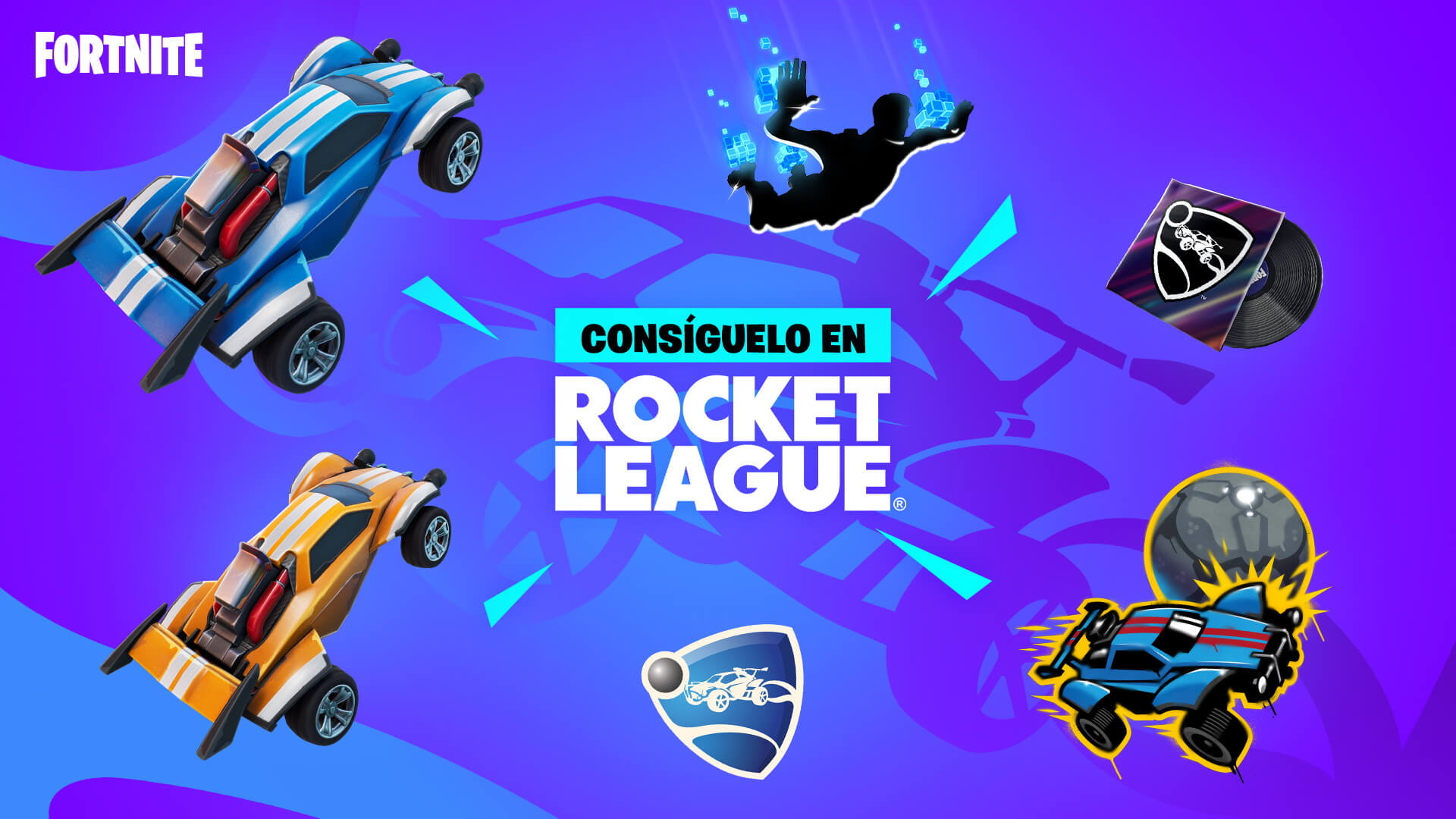 ES MX Rocket League Fortnite Challenges And Rewards