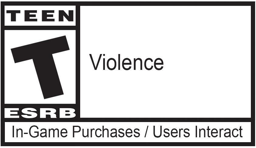 Calificación del juego: TEEN