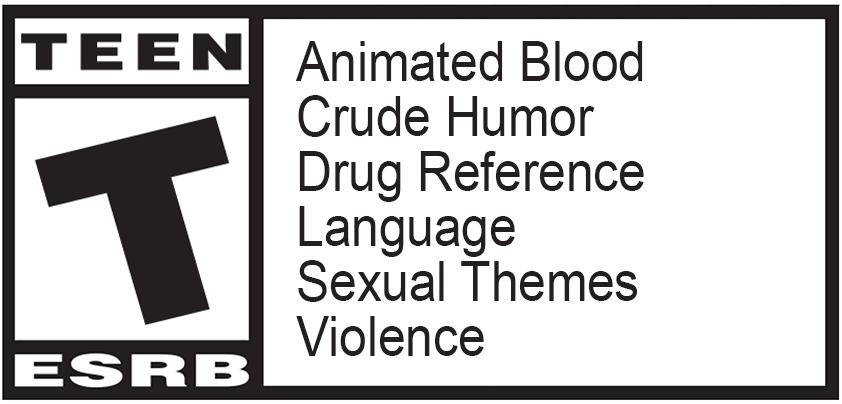 Classification du jeu: TEEN