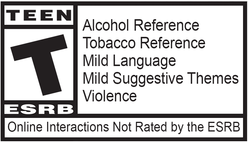 Game rated TEEN