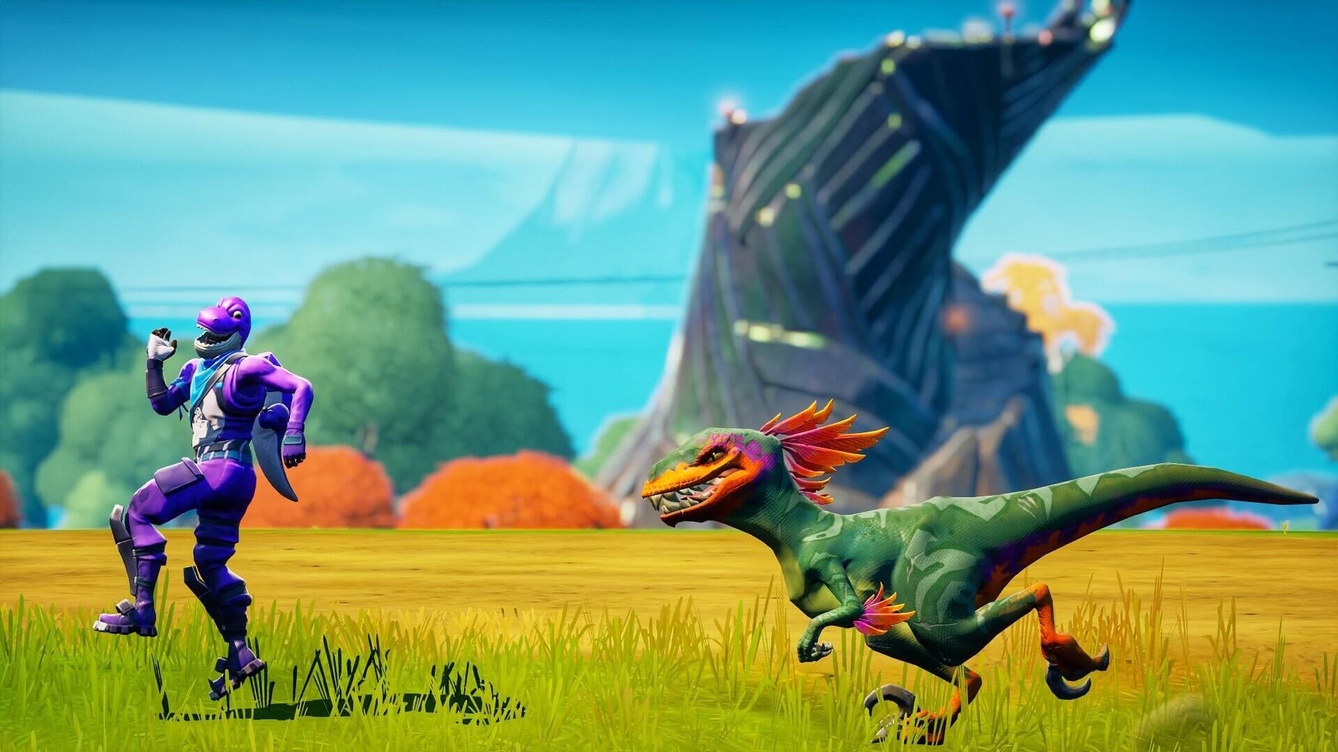 Fortnitegrafía de velocirraptor de ExclusiveFlexer
