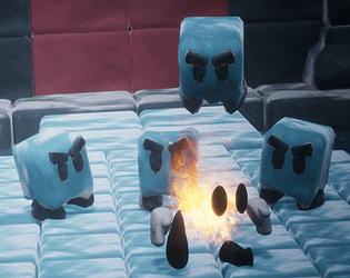 Flame Within Ice AbderrahmaneDYAR
