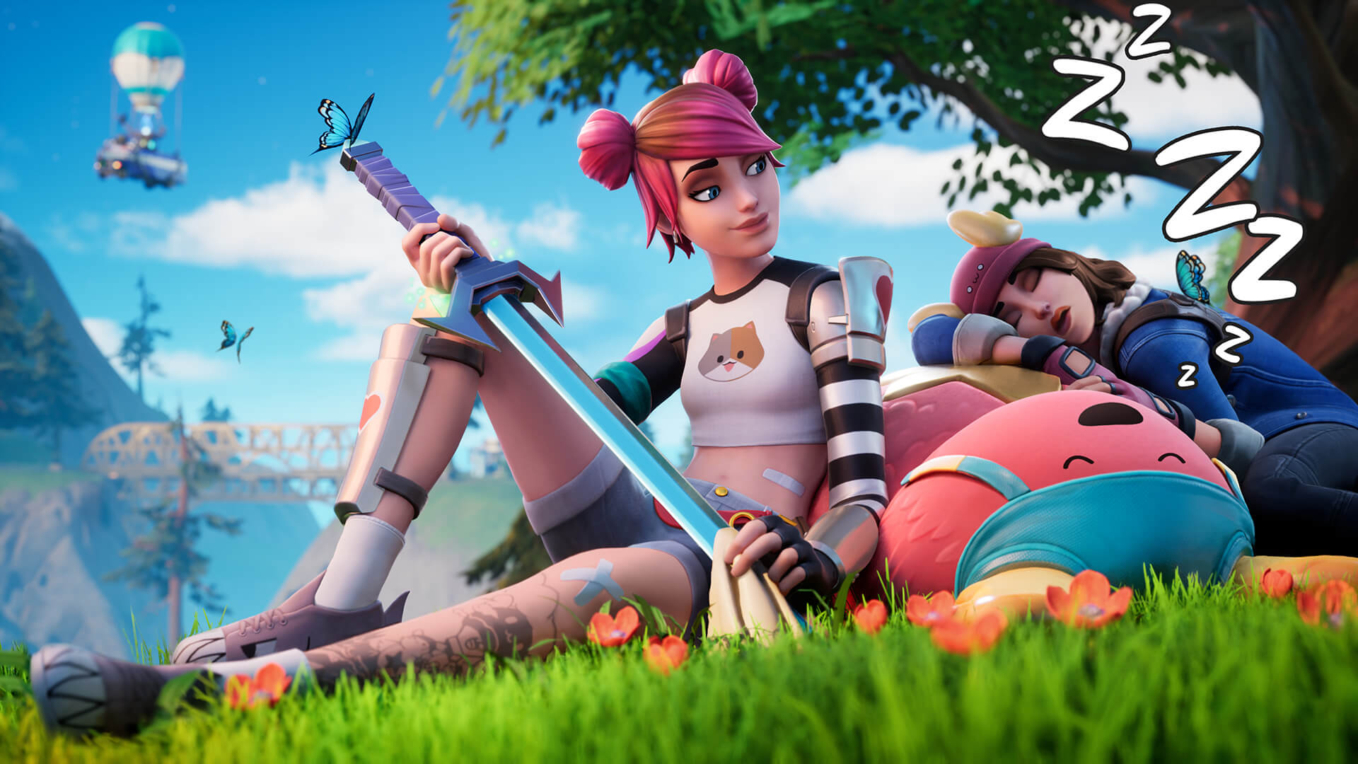 Fortnite Afternoon Quest Loading Screen