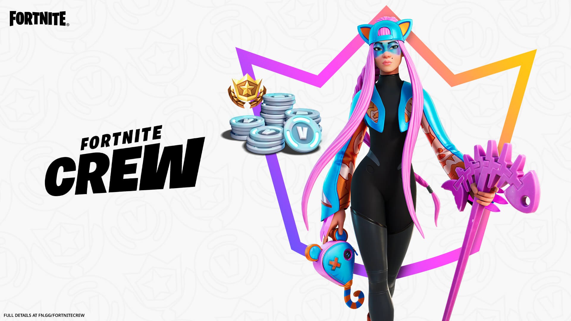 Fortnite Alli Outfit April Crew Pack