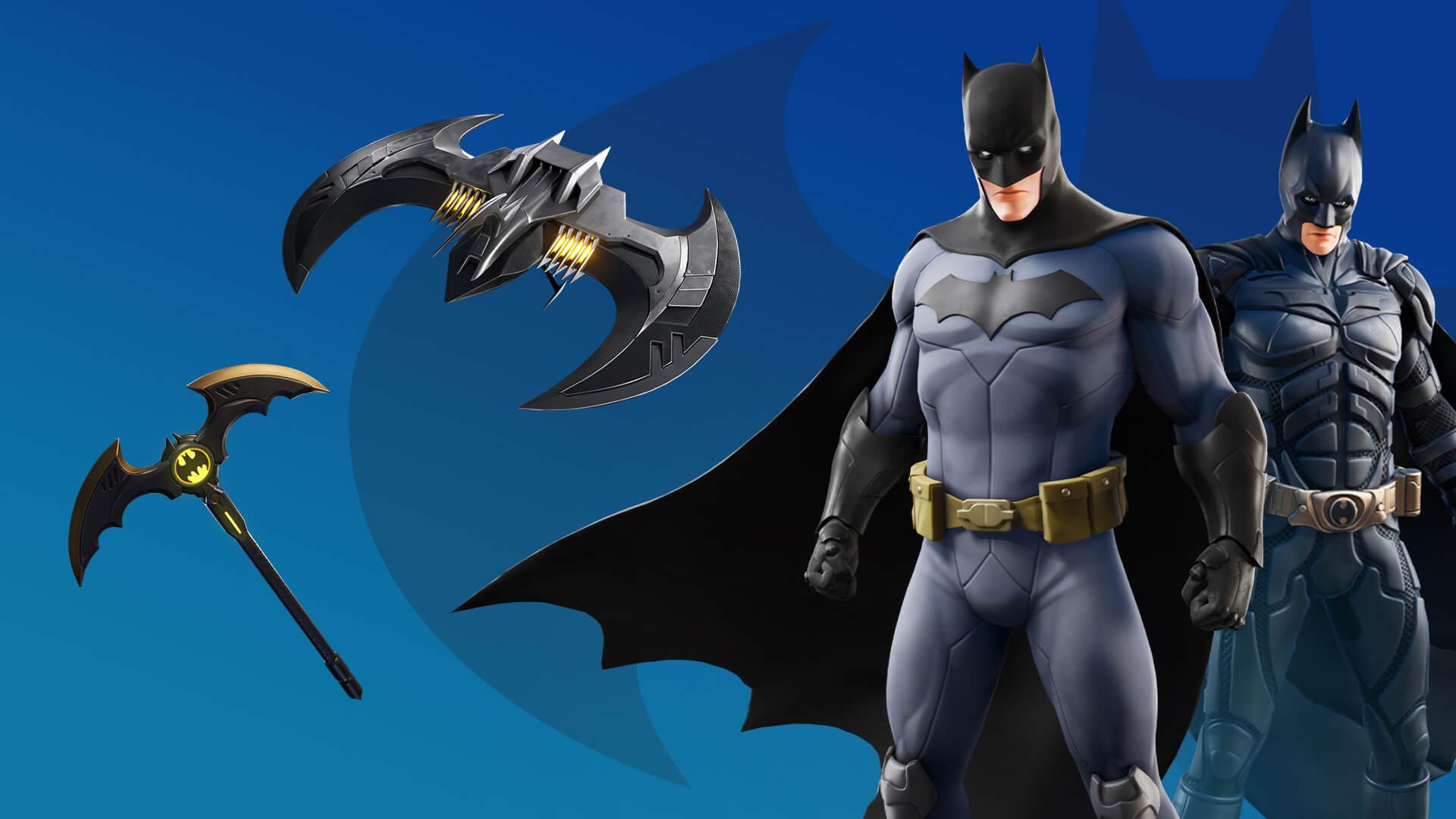 Fortnite Batman Bundle