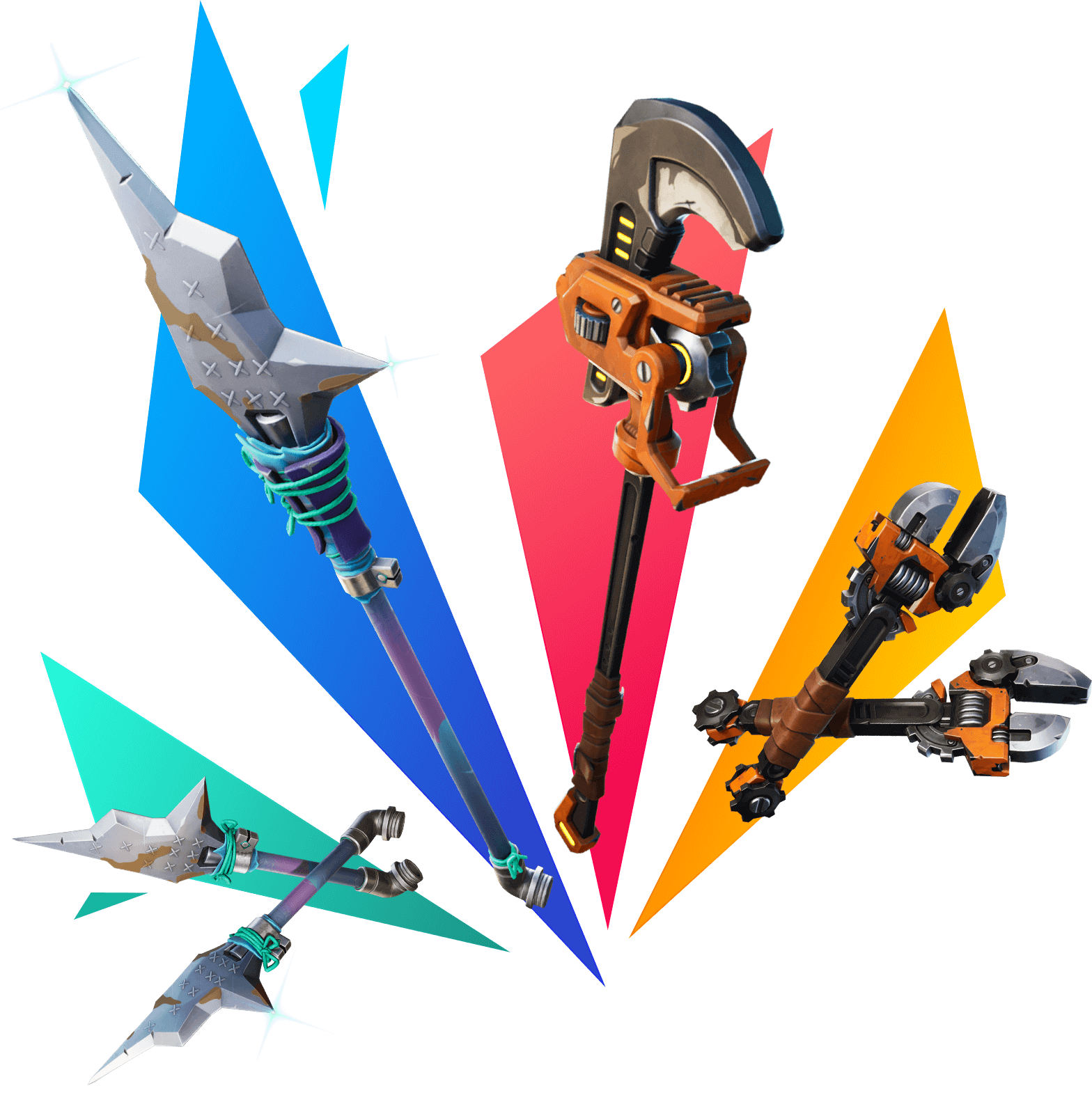 Fortnite Battle Pass Pickaxes