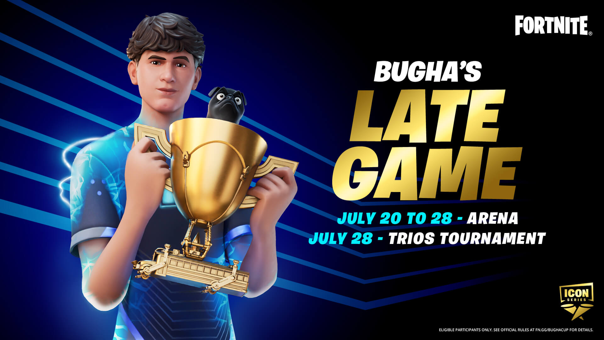 Fortnite Bugha's Late Game Arena and Tournament