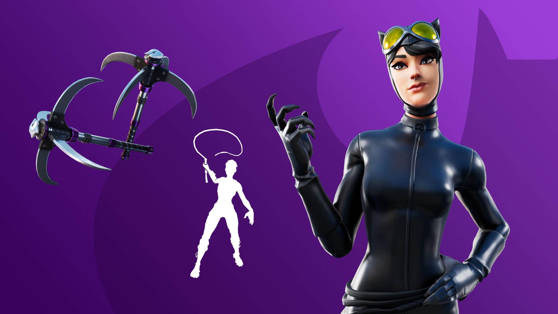 Fortnite Catwoman Bundle