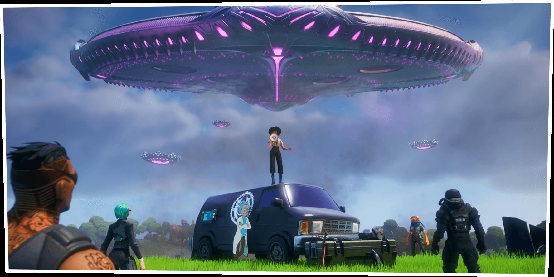 Capítulo 2: Temporada 7 do Fortnite — Invasão Alienígena