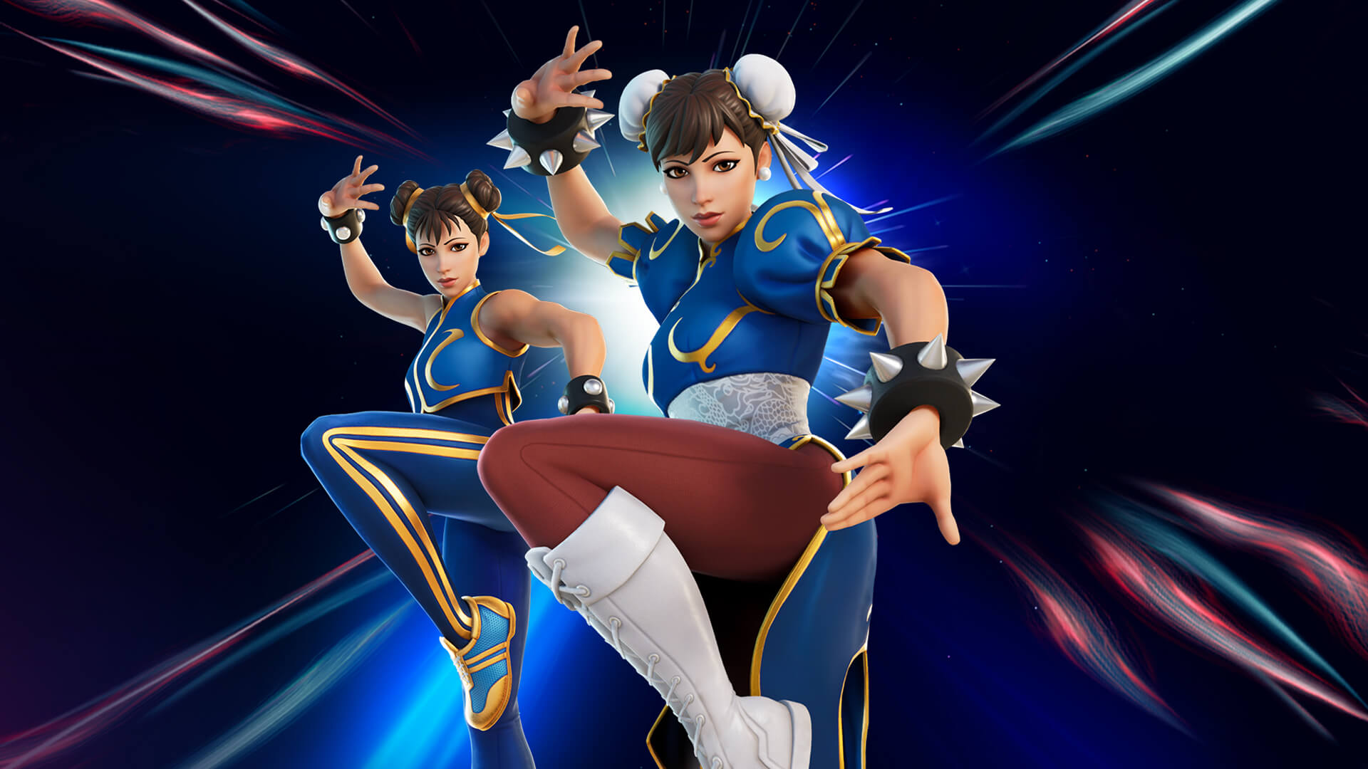 Fortnite Chun Li Outfit From Street Fighter
