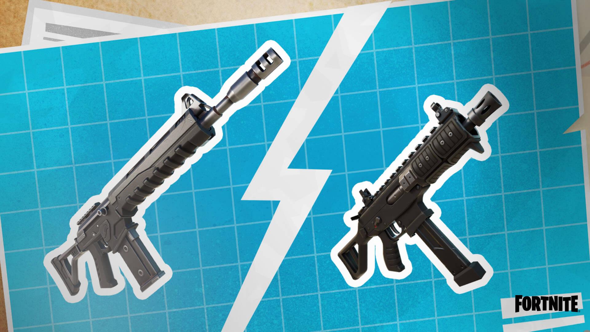 Fortnite Combat Assault Rifle vs. Combat SMG