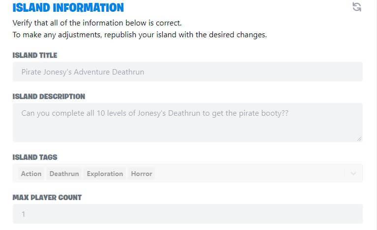 Fortnite Creative Island And Map Details