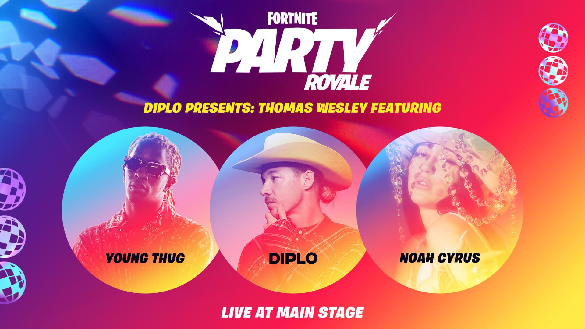 Diplo Presents Thomas Wesley Fortnite Premiere