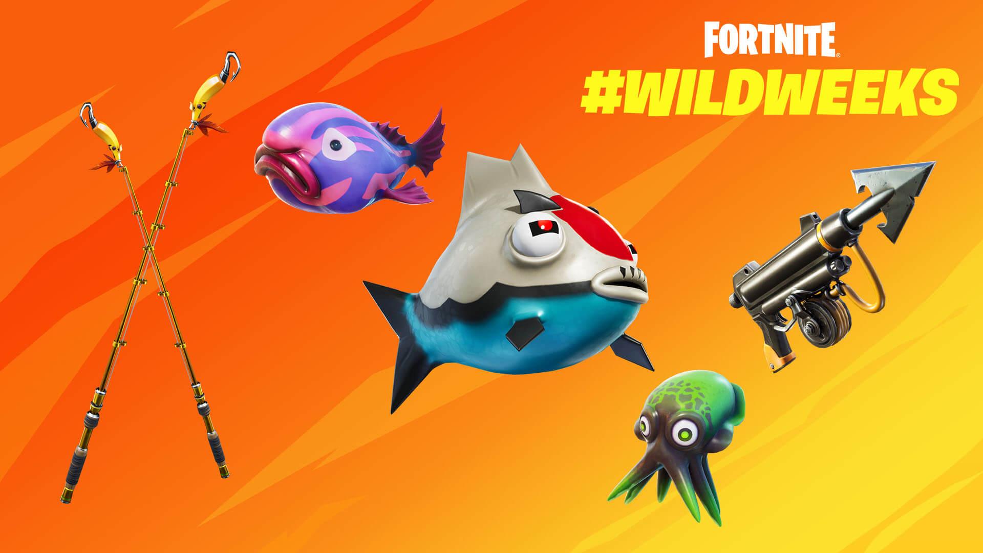 Fortnite Fish Fiesta