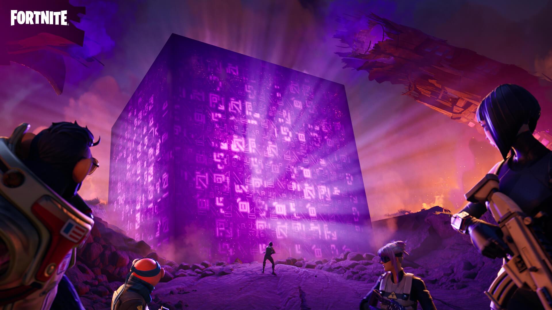 Fortnite Fortnitemares Cubes