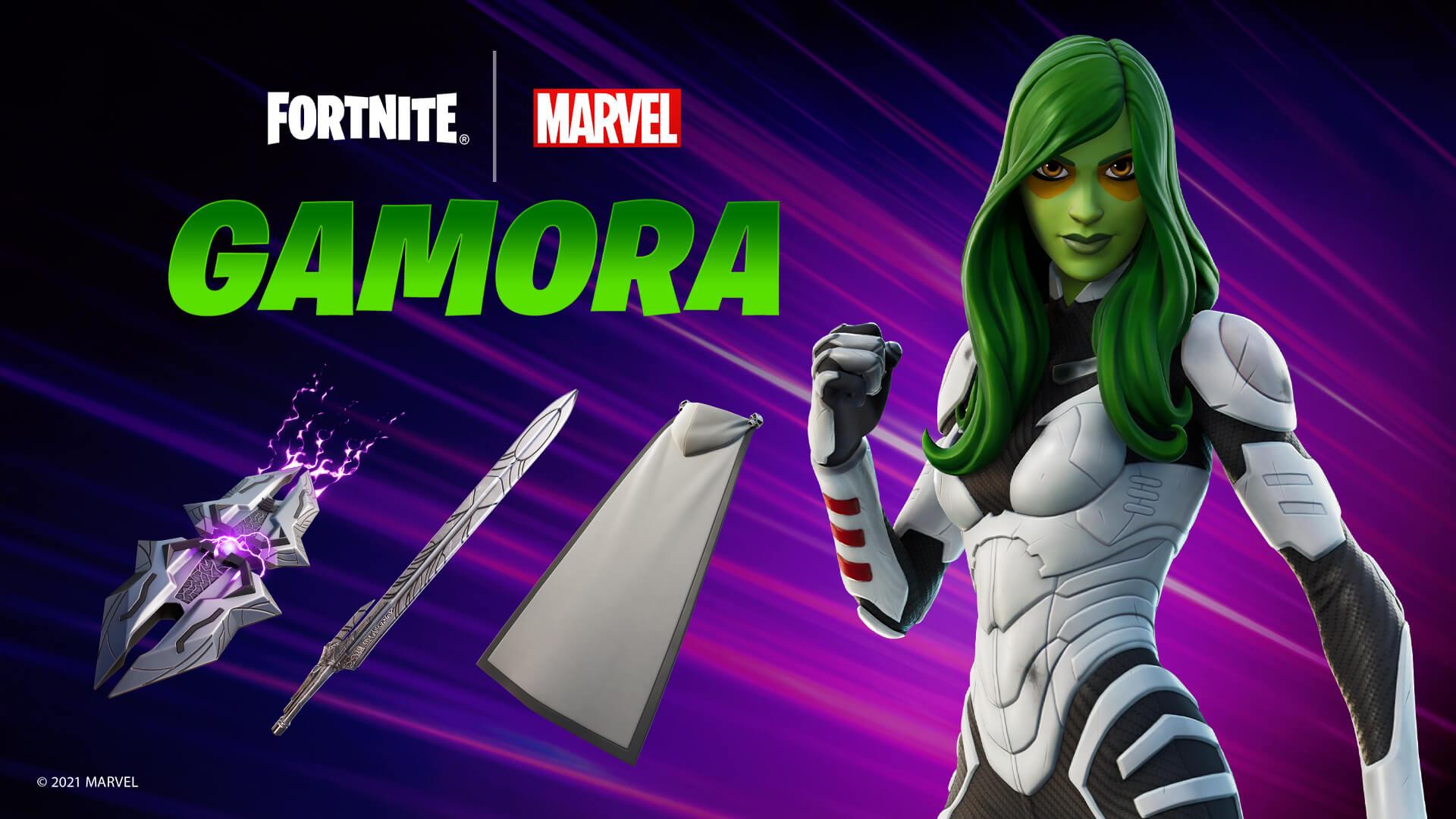 Fortnite Gamora Outfit