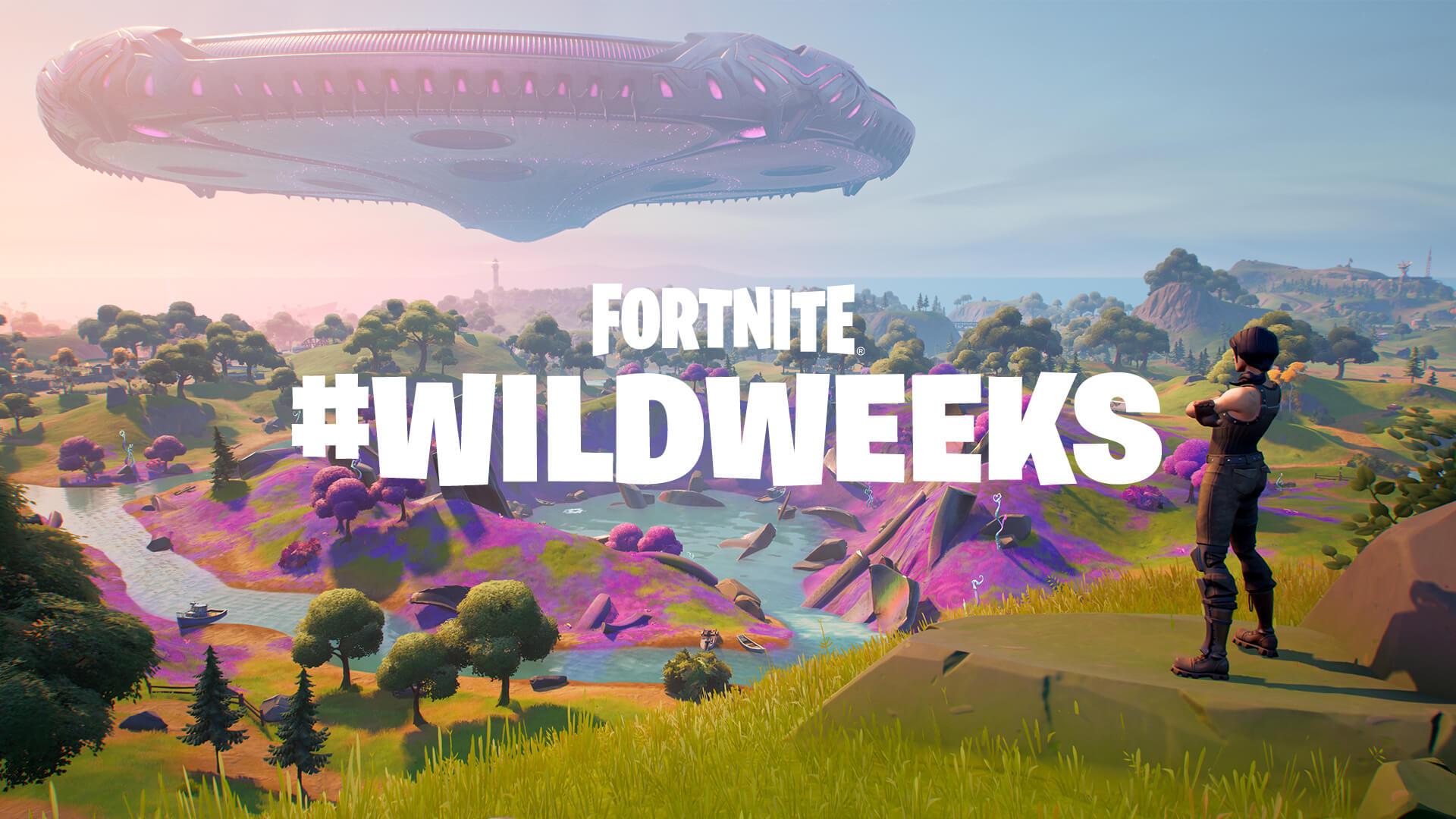 Semanas Selvagens da Invasão do Fortnite