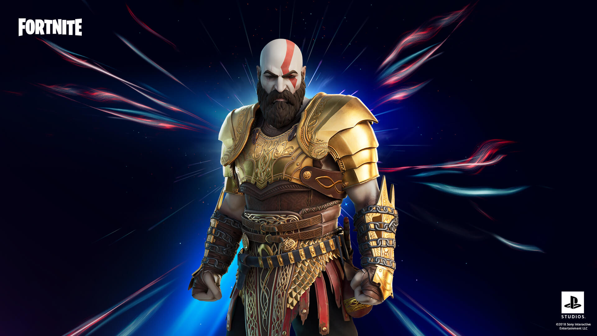Fortnite Kratos Armored Style Outfit