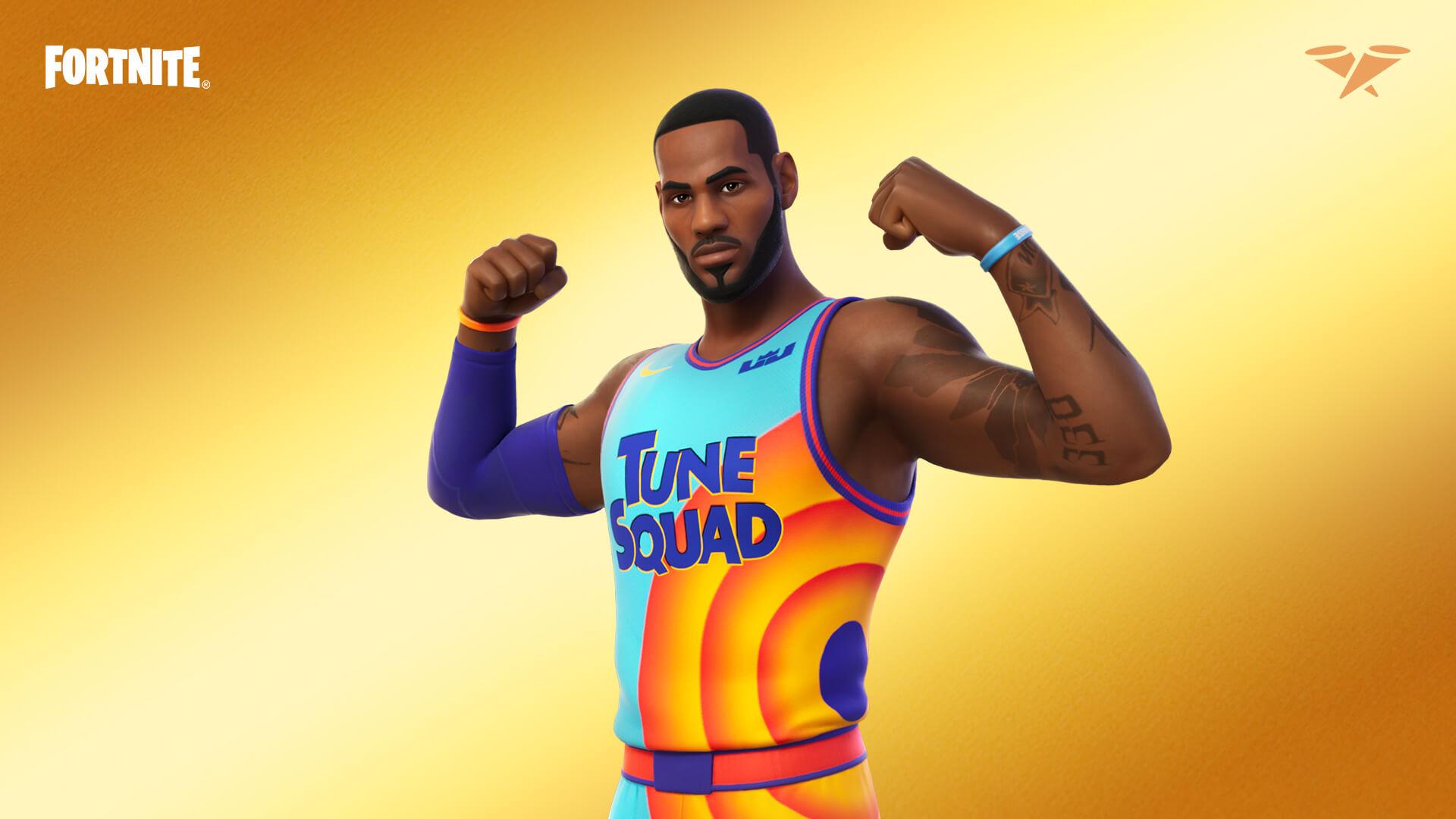 Fortnite Lebron James Tune Squad Outfit