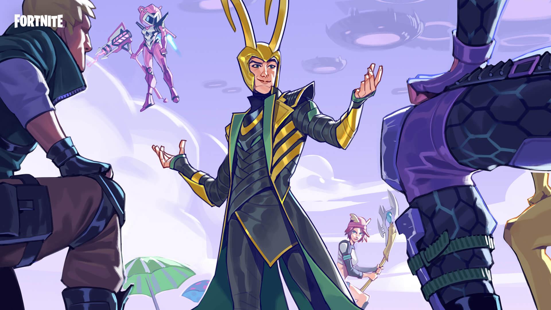 Fortnite Loki's Welcoming Loading Screen