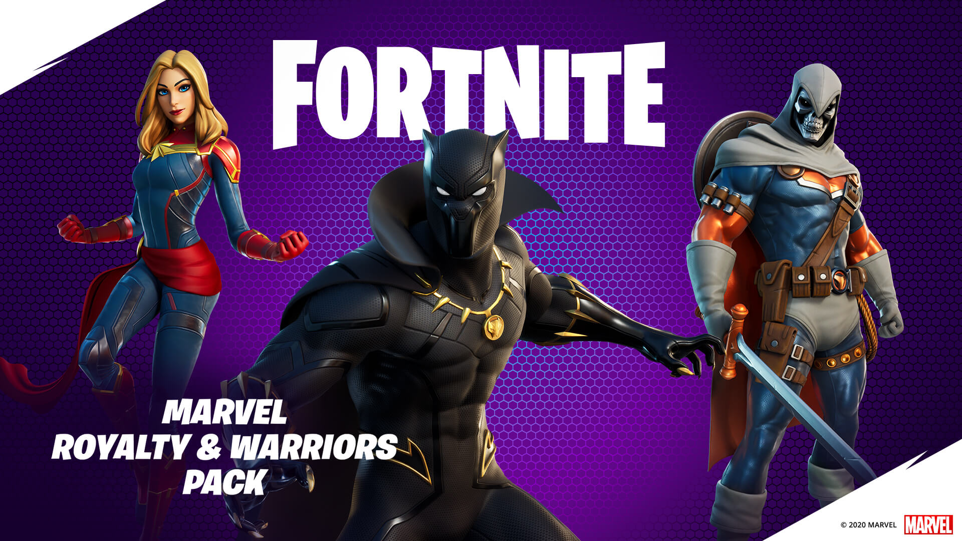 Fortnite Marvel Royalty And Heroes Pack