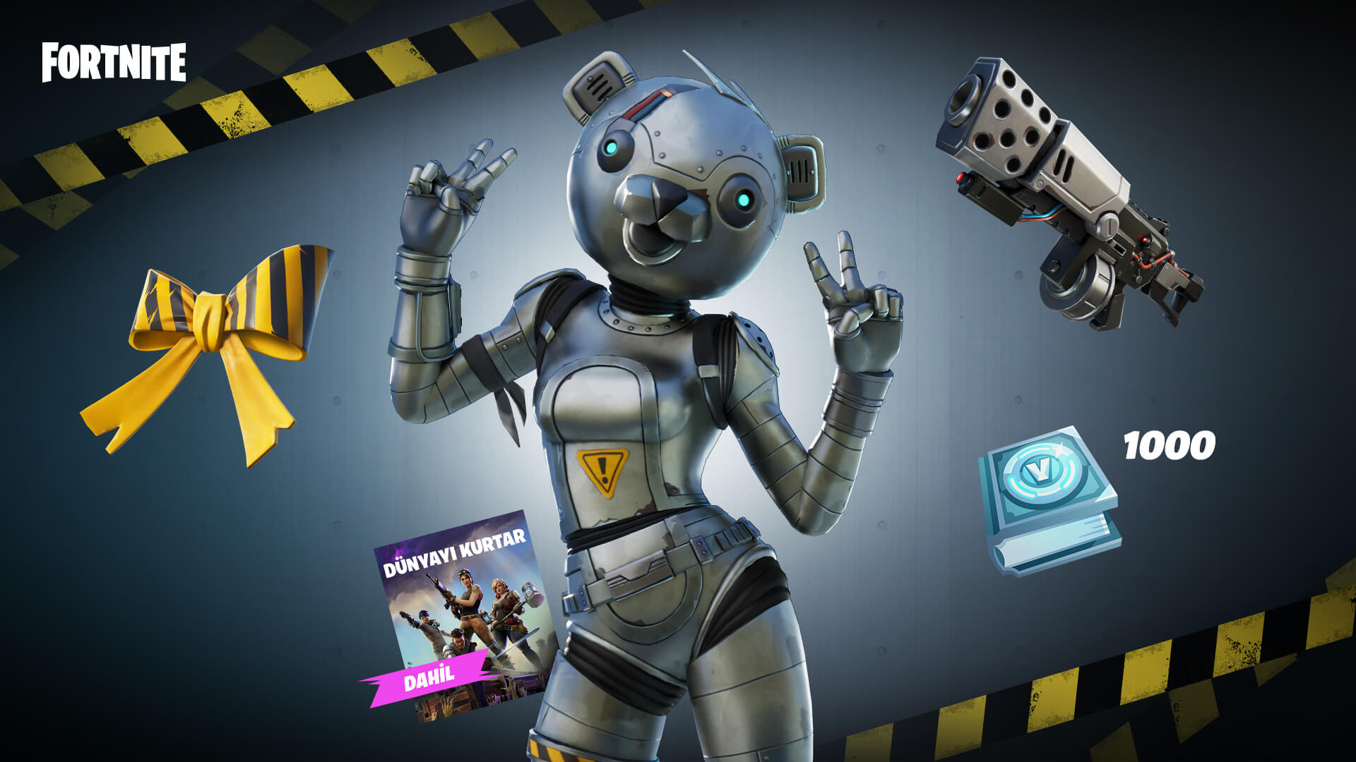 Fortnite Metal Team Leader Pack TR