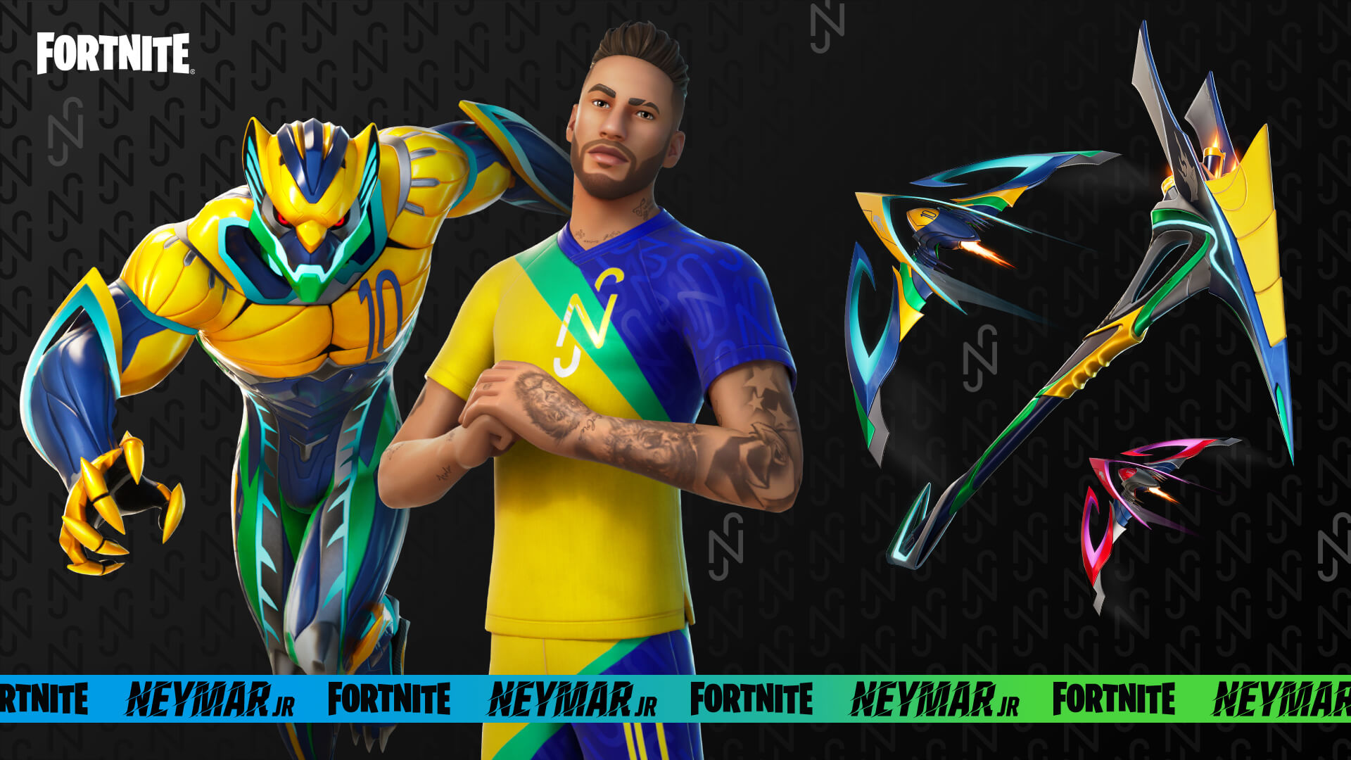 Fortnite Neymar Jr Epic Quest Rewards
