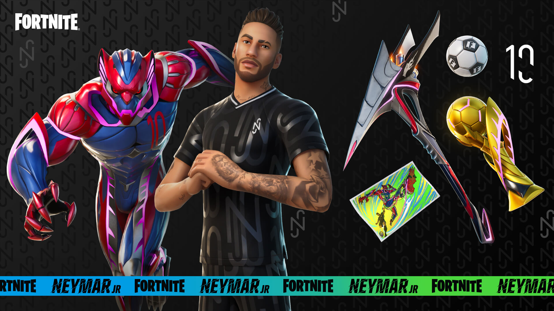 Fortnite Neymar Jr Rewards