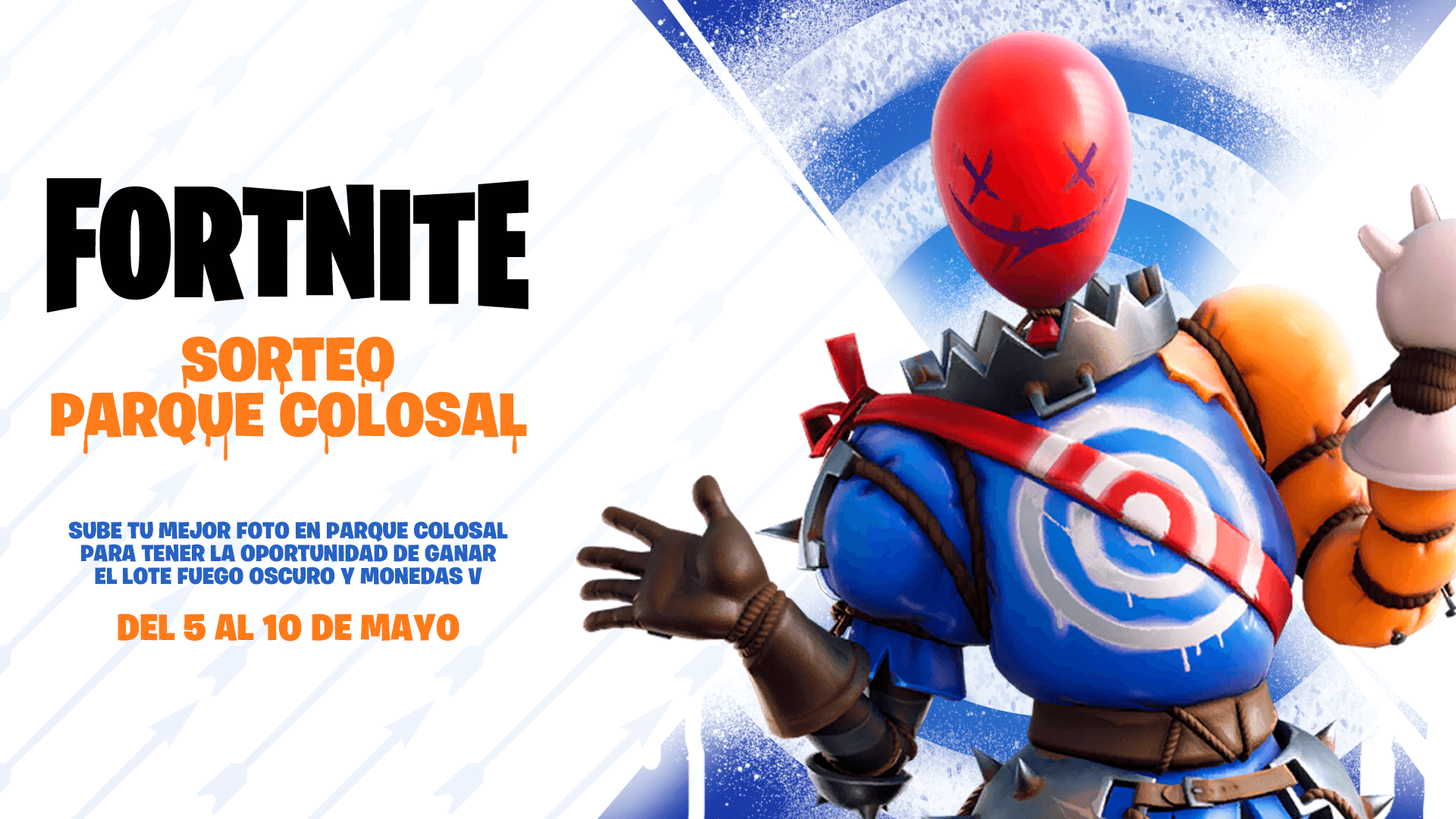 Fortnite Parque Colosal Sweepstakes