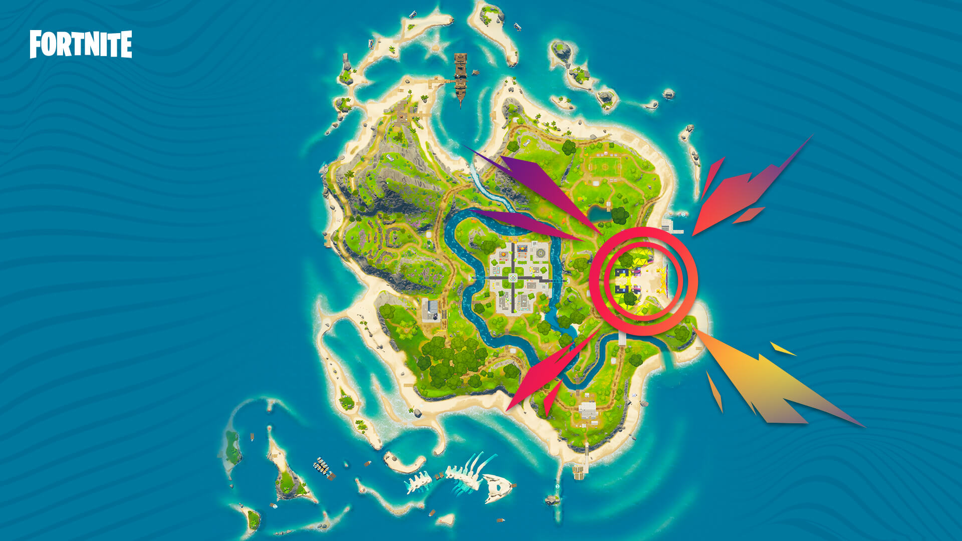 Fortnite Party Royale Main Stage Location