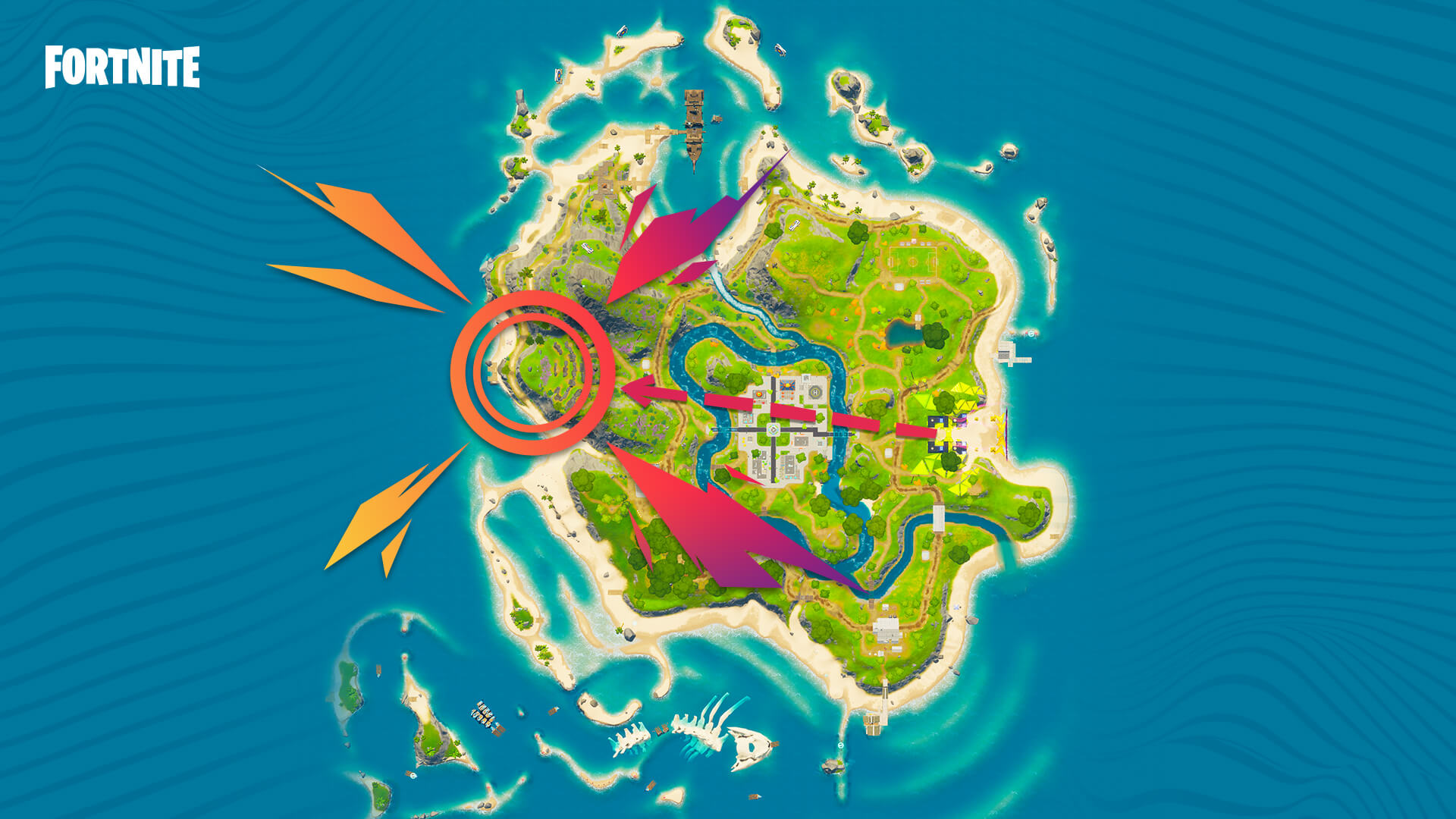 Fortnite Party Royale Map Big Screen