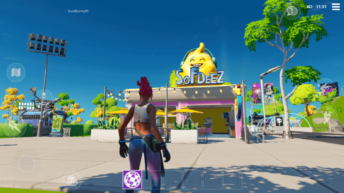 Fortnite Party Royale Sofdeez Ice Cream Shop