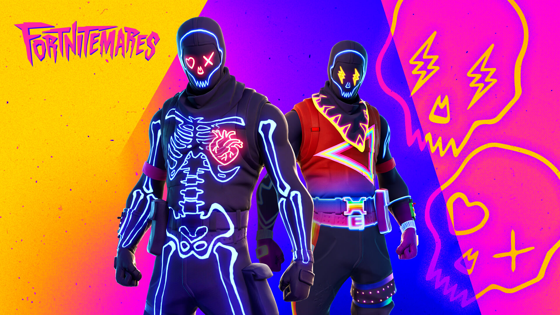 Fortnite Party Trooper Outfit Regular And J Balvin Style