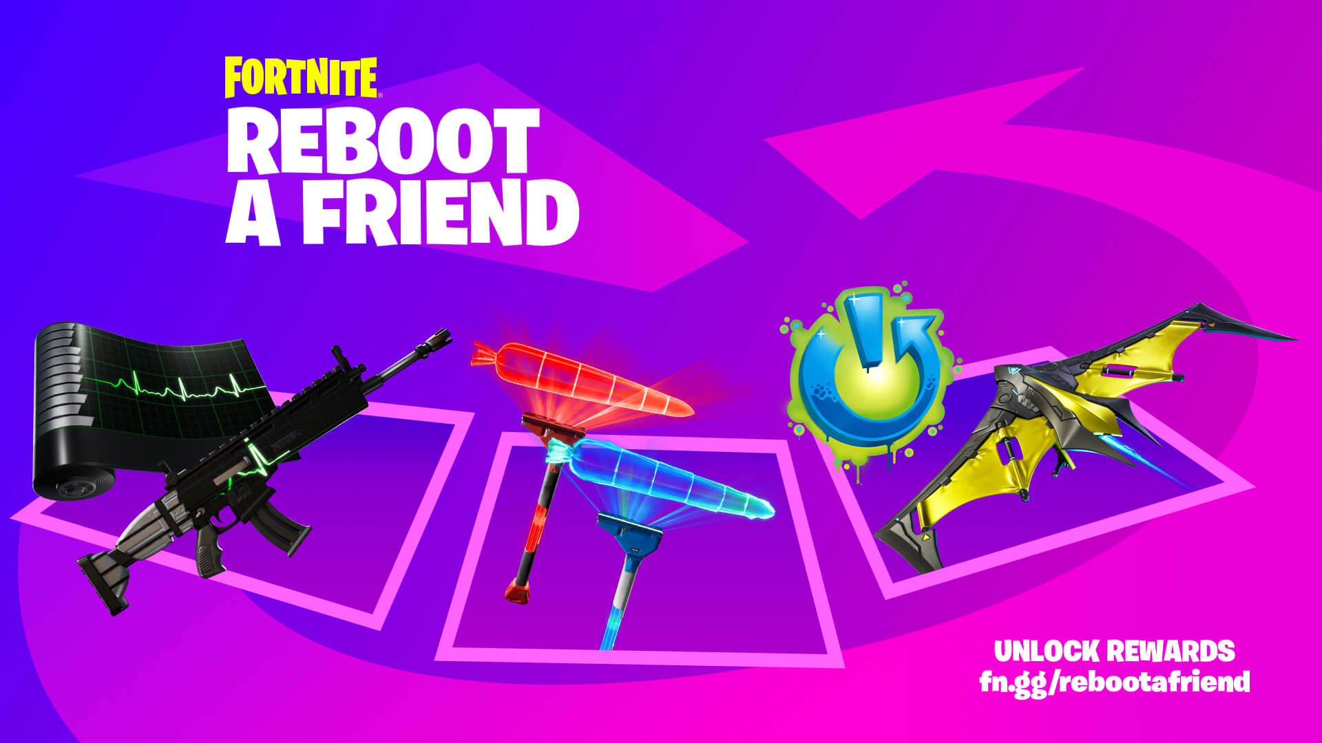 Fortnite Reboot A Friend Rewards Eng