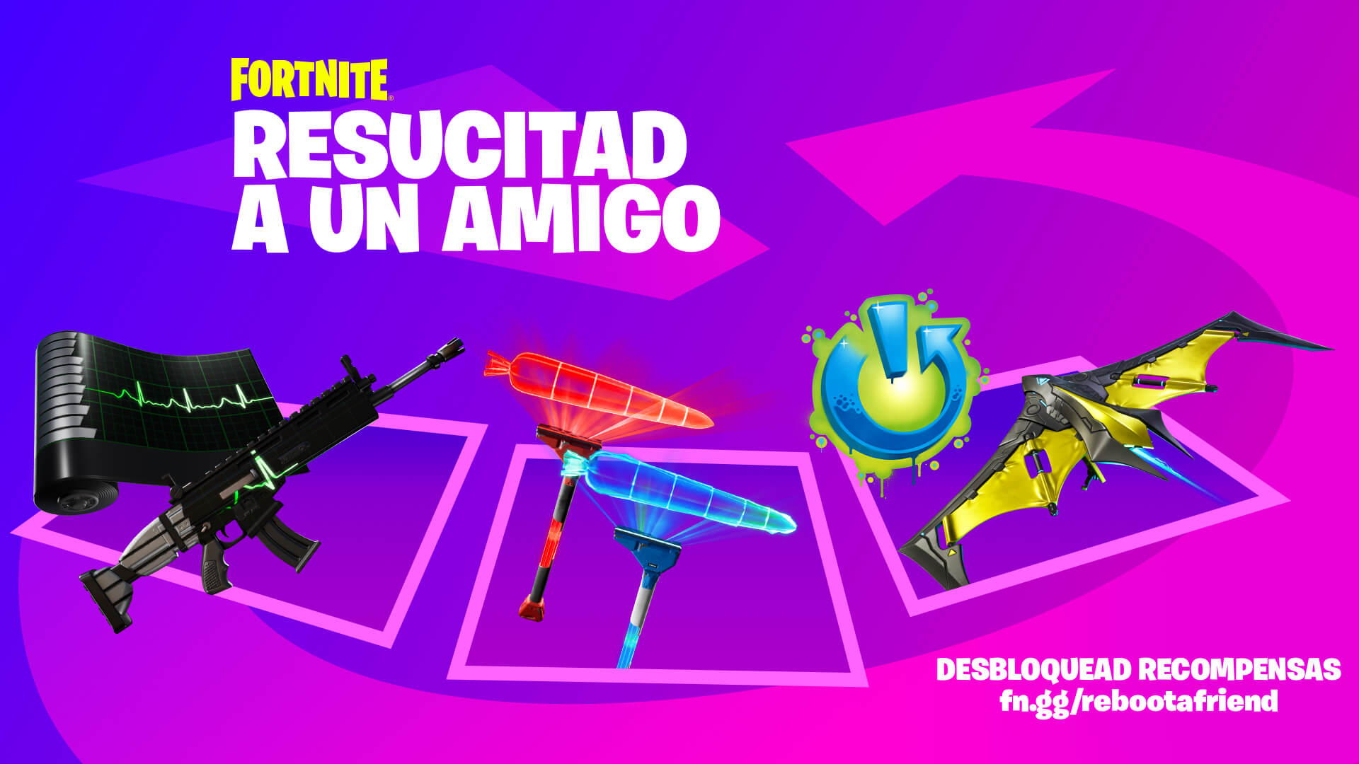 Fortnite Reboot A Friend Rewards ESES