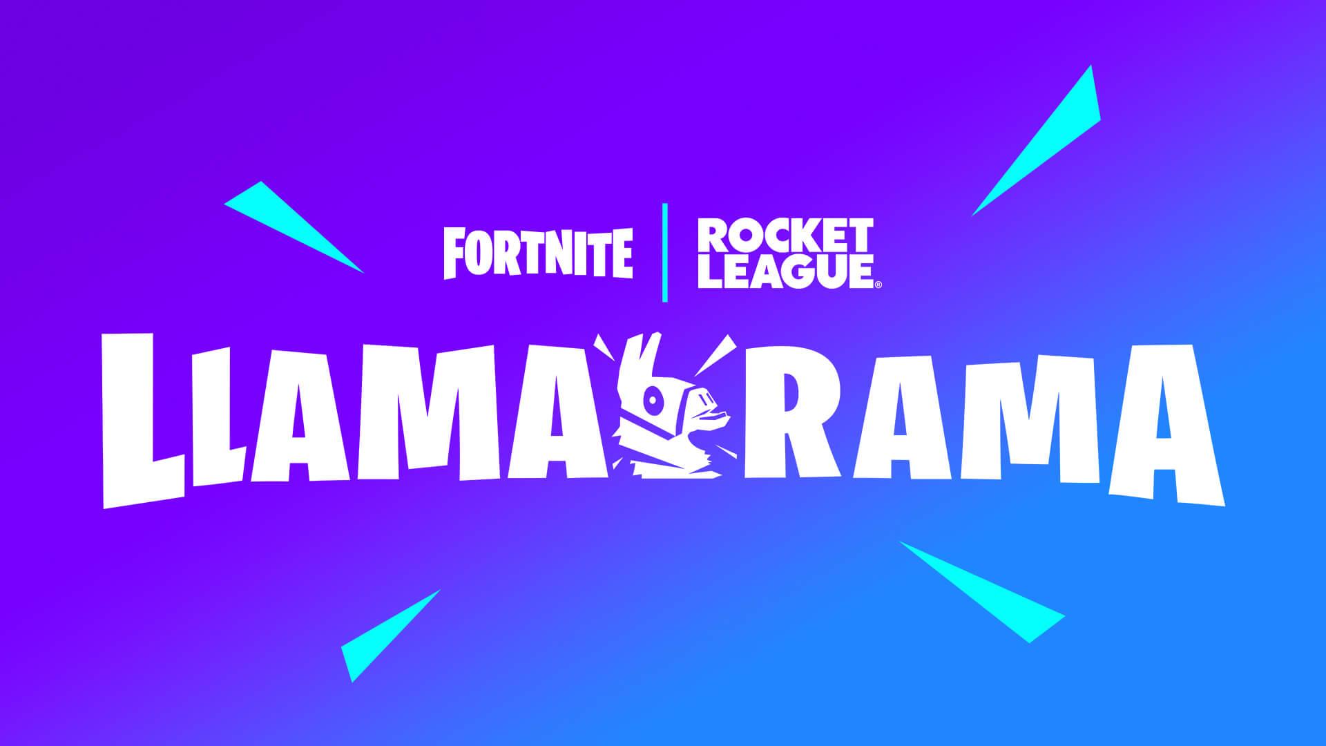 Fortnite Rocket League Llamarama Event