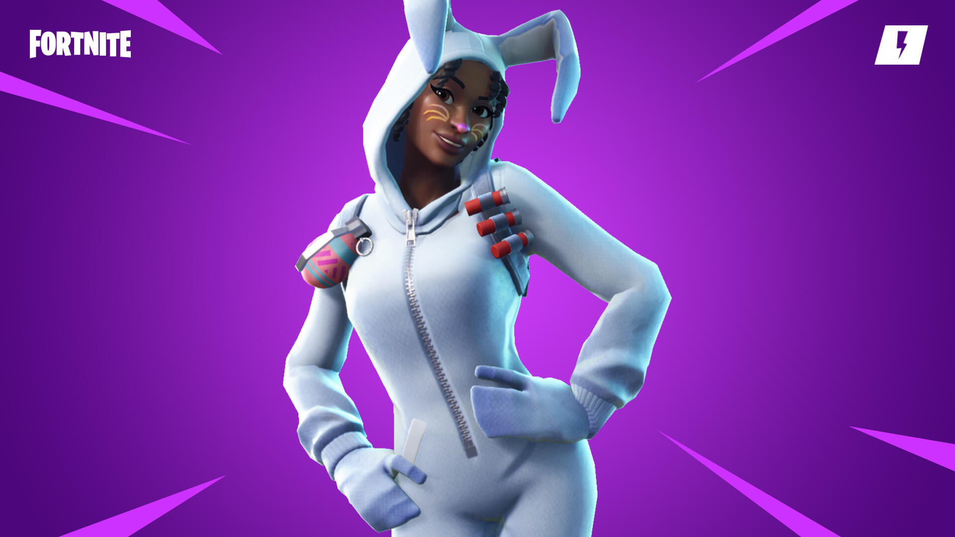 Fortnite Save The World Bunny Brawler Luna