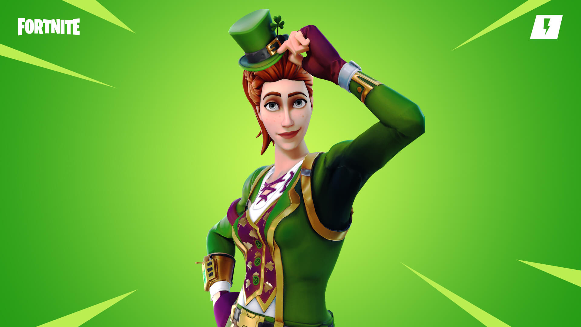 Fortnite Save the World Four Leaf Wildcat Hero