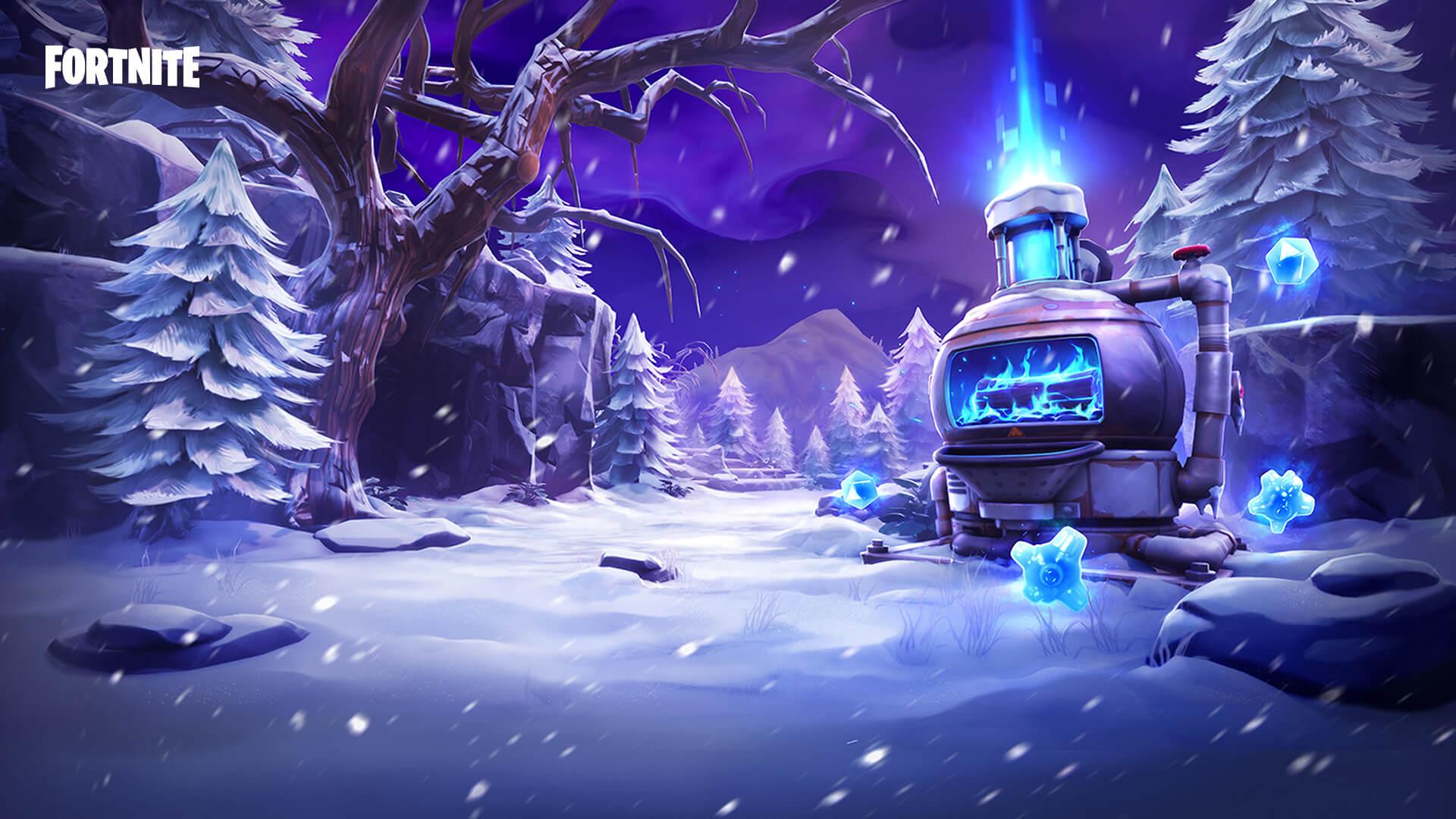 Fortnite Rette die Welt Frostnite-Event