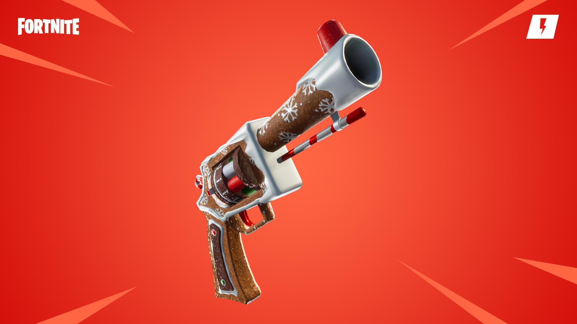 Fortnite Save the World Ginger Blaster Pistol