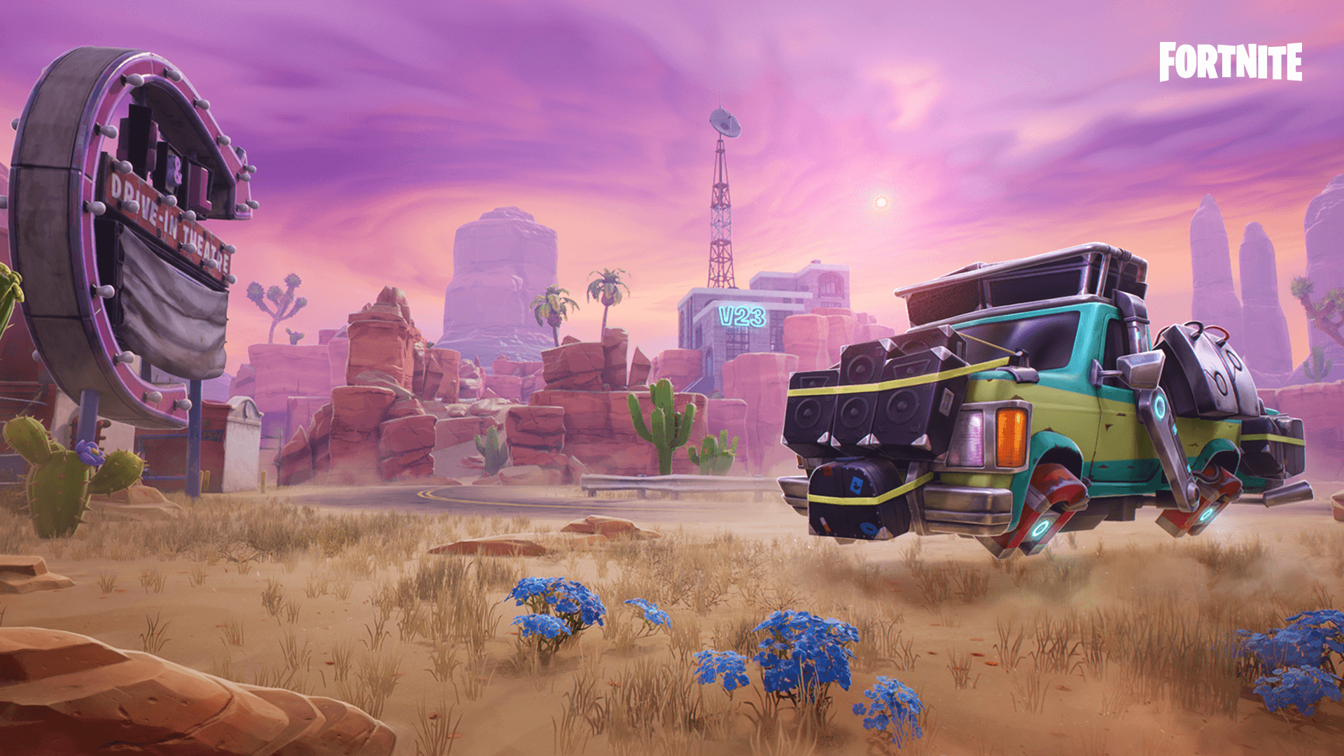 Fortnite Save The World Hit The Road 2019 Loading Screen