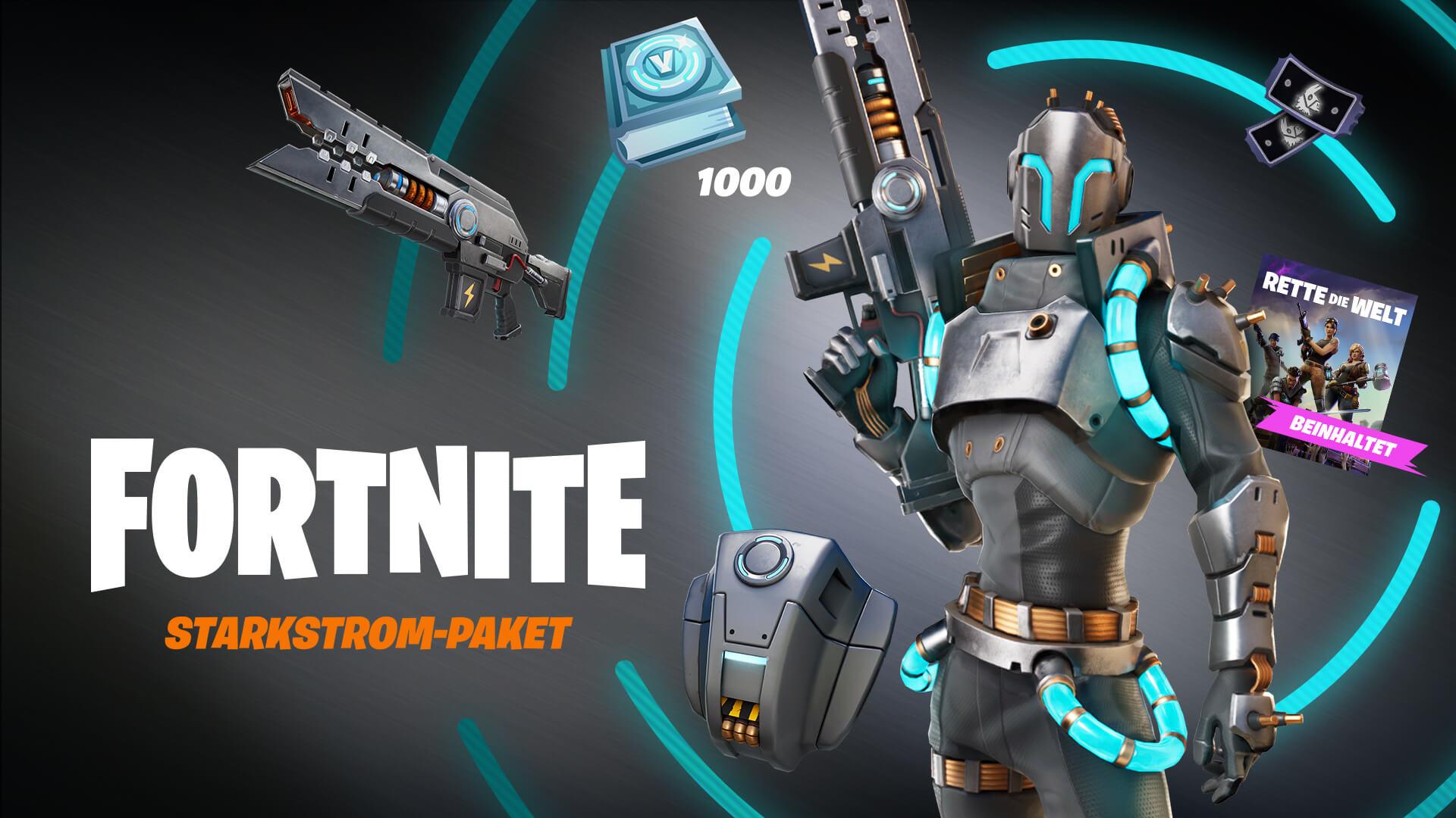 Fortnite Save The World Powerhouse Pack De