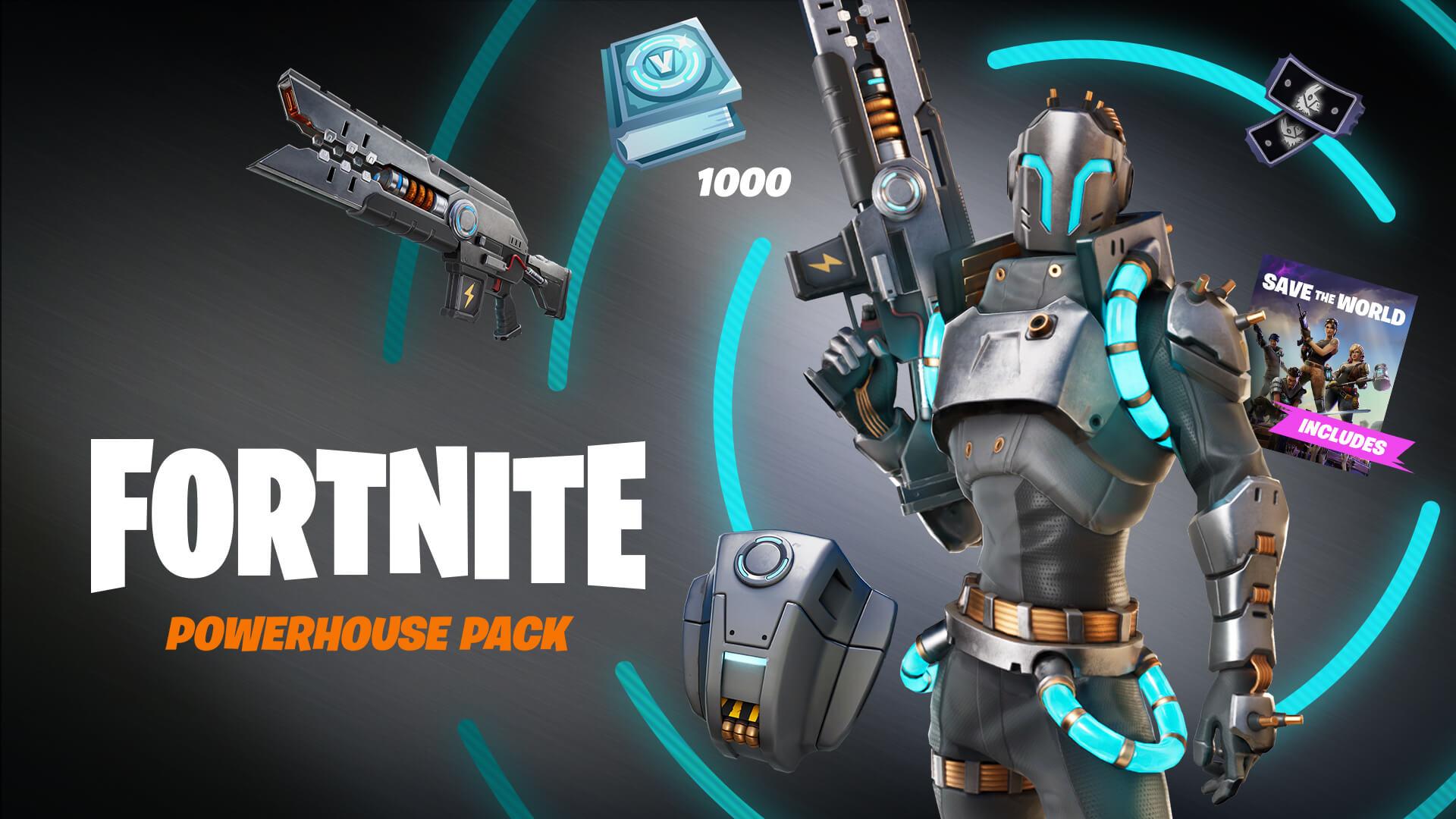 Fortnite Save The World Powerhouse Pack En